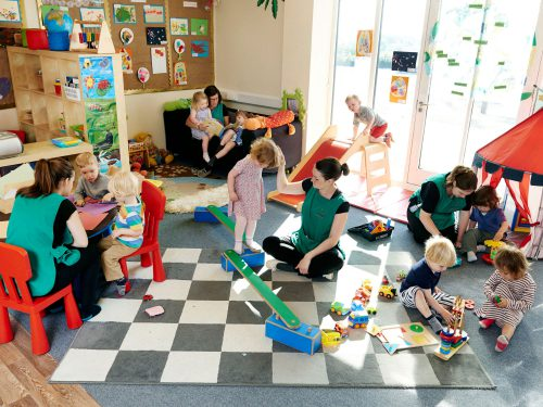 The Toddlers room at Juniors Day Nursery in Cranbrook.